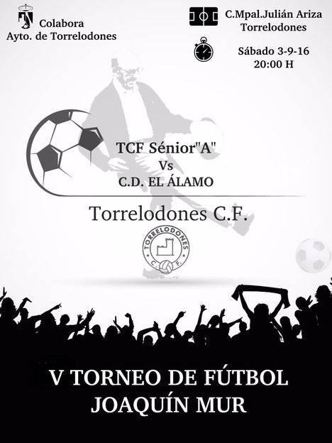 El club de Fútbol Torrelodones celebra el V Torneo `Joaquin Mur´