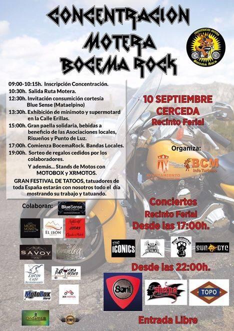 II edición de Bocema Rock en el Recinto Ferial de Cerdeda