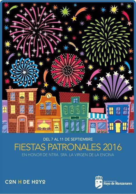 Programa de las Fiestas Patronales de Hoyo 2106