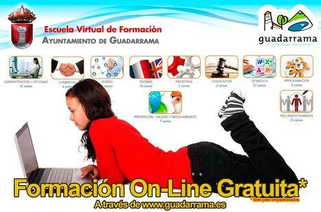 Escuela virtual de Guadarrama: más de 500 cursos