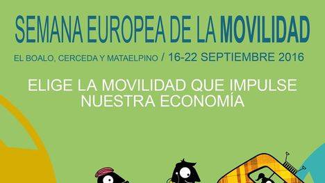 Semana de la Movilidad en El Boalo, Cerceda y Mataelpino