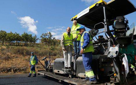 La Comunidad mejora 11,4 kilómetros de la M-601 en el Puerto de Navacerrada