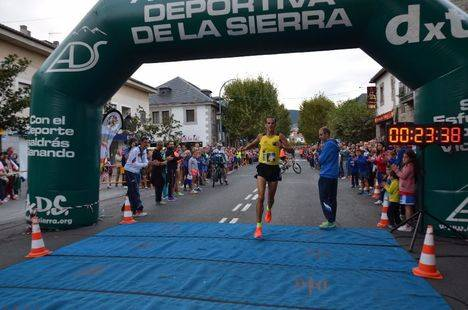 Juan Antonio Cuadrillero ganó la pedestre popular de Guadarrama