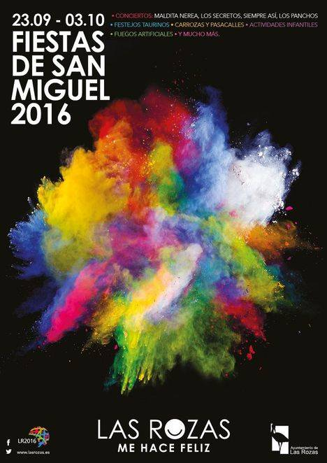 Programa de las fiestas de San Miguel en Las Rozas