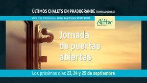 Jornada de Puertas Abiertas Altter en Colonia Torrelodones.