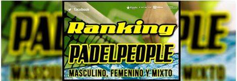 Inscripciones para el ranking de Padel People