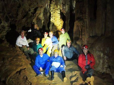 Espeleoclub Torrelodones muestra el patrimonio subterraneo de Sacecorbo