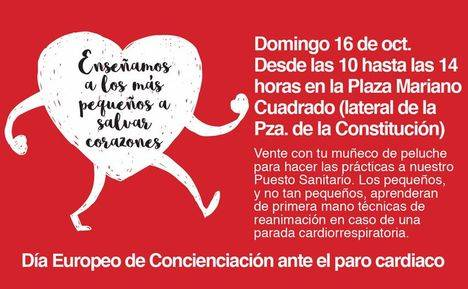 Día Europeo de concienciación contra el paro cardíaco