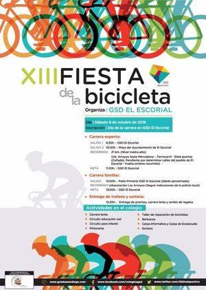 XIII Fiesta de la Bicicleta en El Escorial