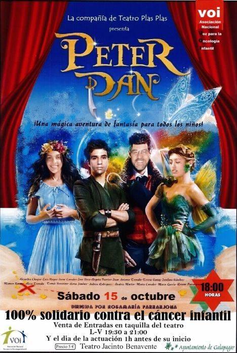Representación benéfica del musical Peter Pan