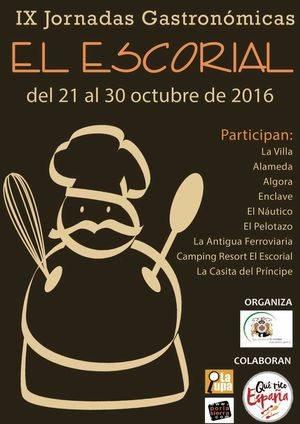 El Escorial celebra sus IX Jornadas Gastronómicas