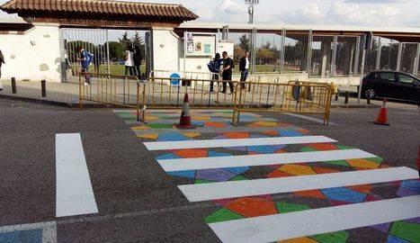 Ciudadanos pide pasos adaptados junto al Julián Ariza