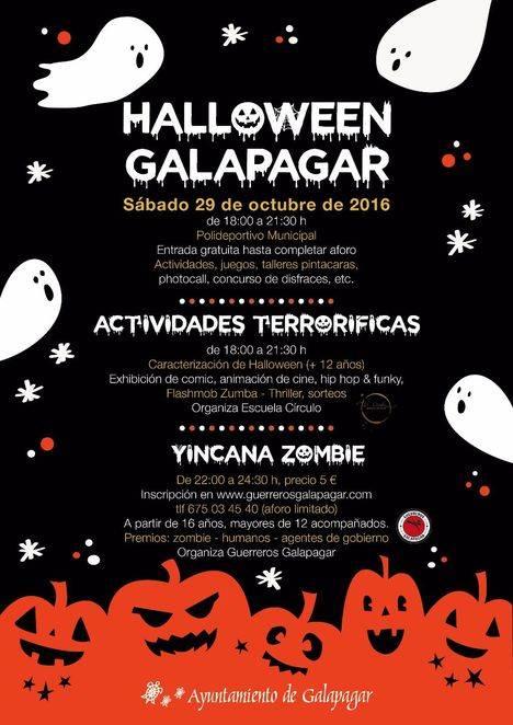 Galapagar prepara una celebración de Halloween para niños y mayores
