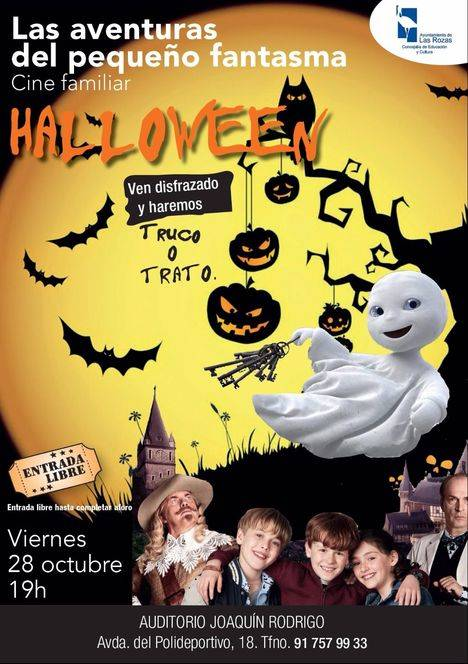 Cine y Pasaje del Terror en el Halloween de Las Rozas