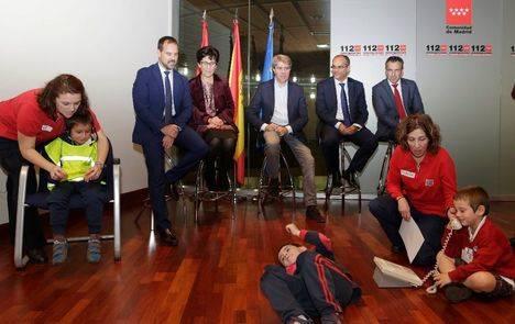 Madrid 112 formará en emergencias a alumnos de un centenar de colegios