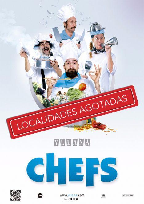 """Yllana vuelve a Las Rozas con """"Chefs"""" este fin de semana"""