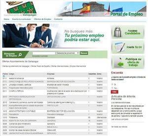 El Portal de Empleo recoge la oferta de 30 puestos de trabajo