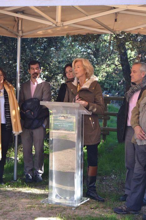 Patrimonio Cultural inaugura los yacimientos de La Cabilda