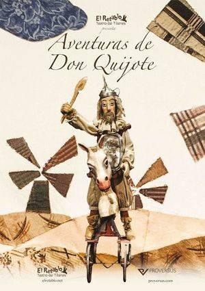 """El teatro de títeres con """"Las aventuras de Don Quijote"""""""