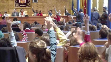 El Pleno infantil decide: los escolares quieren más parques y actividades deportivas y de ocio