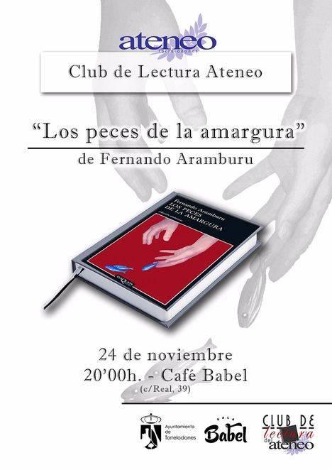 Aramburu para el Club de Lectura del Ateneo de Torrelodones