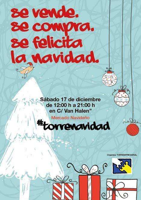 #TorreNavidad: promoción navideña del comercio local