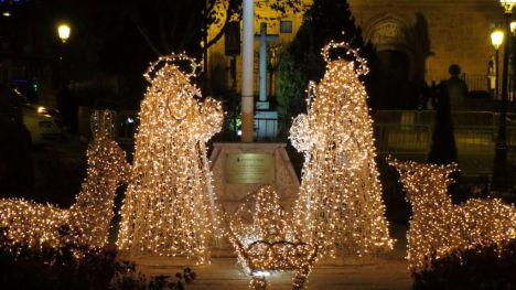 Galapagar ya ha puesto en marcha la Navidad 2016