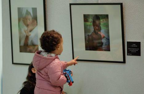 Exposición de fotos con la vida cotidiana de las personas con discapacidad