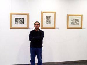 Galapagar acoge la exposición litográfica de Antonio Estévez