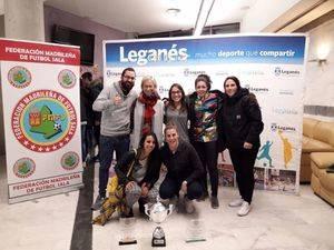 El Ayuntamiento de Colmenarejo premiado por su apoyo al Fútbol Sala