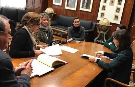 Acuerdo con Bellas Artes para que los alumnos 'intervengan' en el espacio público