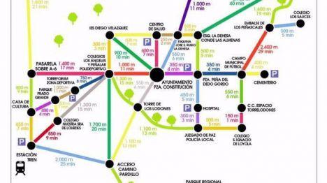 Patear Torrelodones con la guía Metro minuto