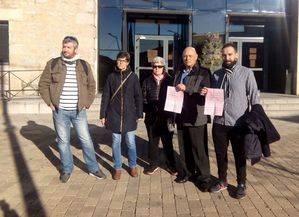 Más de 3.000 firmas contra la ampliación de la zona azul
