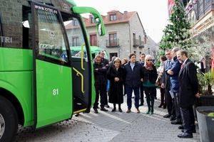 El nuevo recorrido de la Línea 631 se presentó hace unos días en Colmenarejo