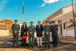 La Guardia Civil recibe dos vehículos nuevos en Boadilla