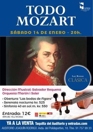 La temporada de Las Rozas Clásica se abre con un concierto dedicado a Mozart