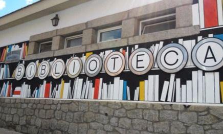 Cierre temporal de la biblioteca del pueblo