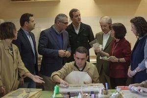 El consejero de Políticas Sociales y el alcalde visitaron Nuevo Horizonte