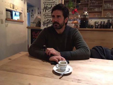 Hernán Zin presenta la película Nacido en Siria en Torrelodones