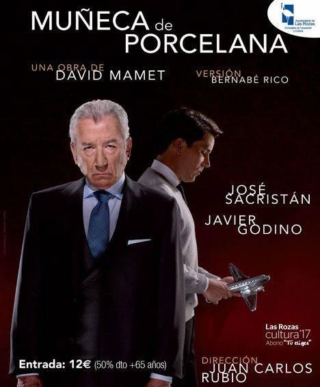 José Sacristán y Jorge Blas este fin de semana en Las Rozas