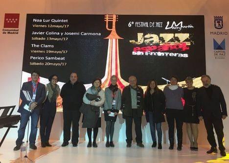 El Festival de Jazz presenta su sexta edición en FITUR
