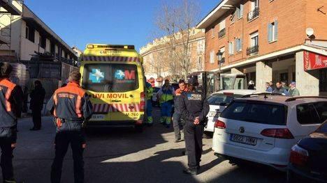 Un hombre, herido muy grave en un accidente laboral en Torrelodones