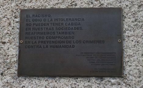 Acto en recuerdo de las Víctimas del Holocausto