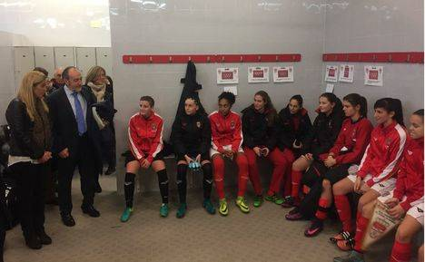 Fin de semana de fútbol femenino en la Ciudad Deportiva de Collado Villalba