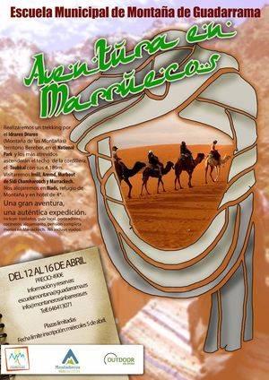 La escuela de montaña adaptada pone en marcha Aventura en Marruecos 2017