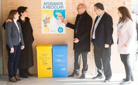 Campaña escolar en Pozuelo para fomentar el reciclaje