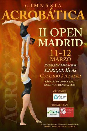 II Open Madrid de Gimnasia Acrobática