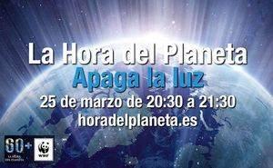 Una hora sin iluminación artificial para luchar contra el cambio climático