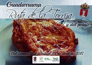 V Ruta de la torrija y el potaje en Guadarrama