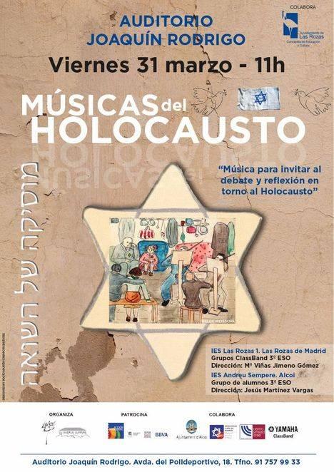 'Músicas del Holocausto' y música Sacra en la programación cultural